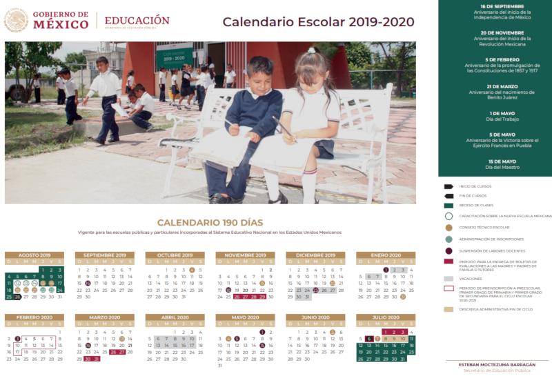 Calendario Escolar Valladolid 2020.Este Es El Calendario Escolar 2019 2020 Habra 190 Dias Efectivos De